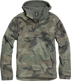 Hooded jackets for women Brandit Windbreaker Jacket Green L BranditBrandit Th . Windbreaker Jacket, Hooded Jacket, Camouflage, Military Fashion, Mens Fashion, Line Jackets, Green Jacket, Military Jacket, Military Poncho