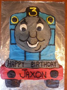 My Thomas cake for FS client