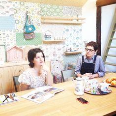 les créatrices du studio de création Mini Labo, Céline & Caroline, agence A24, interview, magazine Home