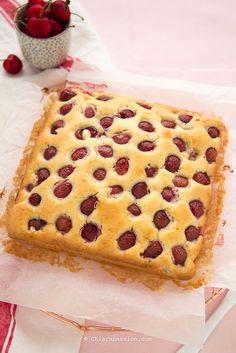 Ricetta Torta di ciliegie Morbida e Facile