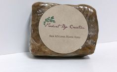 I love raw african black soap!!