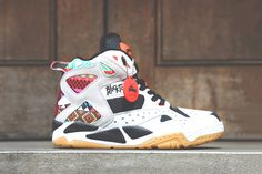 """Image of Reebok Pump Blacktop Battleground """"Geometric Pattern""""; I'll buy these on clearance and rock the shit out of them"""