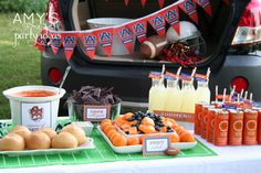 Get ready to kick off the NFL Preseason with these tailgating party ideas.