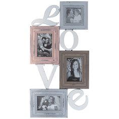 This listing is for one Vintage Style MDF Love Scene Collage Photo Frame For 4 Pictures. Price £43.99