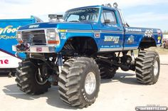 Bigfoot Monster Truck | Bigfoot: The Original Monster Truck (16 Photos) » bigfoot-truck-15