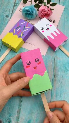 Diy Crafts For Girls, Diy Crafts Hacks, Diy Home Crafts, Creative Crafts, Diy For Kids, Fun Crafts, Kids Fun, Paper Crafts Origami, Paper Crafts For Kids