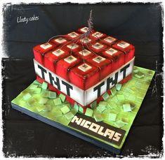 Minecraft cake - cake by Llady
