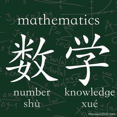 #math #mandarin #chinese