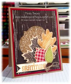Image result for layered fall cards