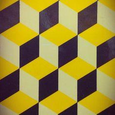 "stephanietepto: "" #cube #pattern #print on bakery #packaging """