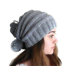 unisex Gray neckwarmersHat Beanie autumn wool by likeknitting, $28.99