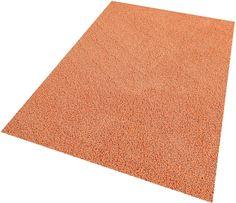 Hochflor-Teppich orange, B/L: 60x120cm, 35mm, »Amarillo«, fußbodenheizungsgeeignet, schmutzabweisend, strapazierfähig, Living Line Jetzt bestellen unter: https://moebel.ladendirekt.de/heimtextilien/teppiche/hochflorteppiche/?uid=454cab1f-2242-547f-8051-054fbb17ffc1&utm_source=pinterest&utm_medium=pin&utm_campaign=boards #heimtextilien #hochflorteppiche #teppiche