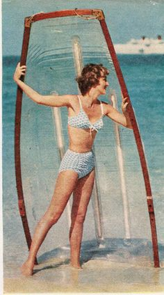 Cole of California Swimsuit 1957 Mark Shaw Photograph for McCalls
