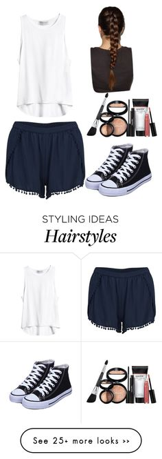 """""""Untitled #45"""" by vanessaa2022 on Polyvore featuring moda, VILA y Laura Geller"""