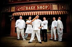 Carlos Bakery, Hobokin New Jersey. Longest day of my life lining up for 3hrs to get in the door...worth every minute. Have met the man himself :)