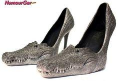 Chaussures crocodiles