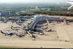 Overview of Moscow Sheremetovo Airport