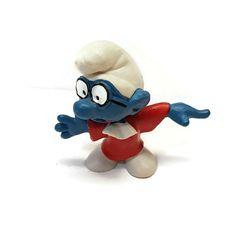 Smurfs 20016 Judge Brainy Smurf Vintage Peyo Schleich PVC Figure West Germany  #Schleich Scottish Bagpipes, Smurfs, Thanksgiving, Ebay, Vintage Dress, Vest, Thanksgiving Tree, Thanksgiving Crafts