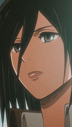 Mikasa, Attack On Titan Eren, Image Icon, Anime Boyfriend, Titans Anime, Aesthetic Iphone Wallpaper, Manga, Lock Screen Wallpaper, Me Me Me Anime