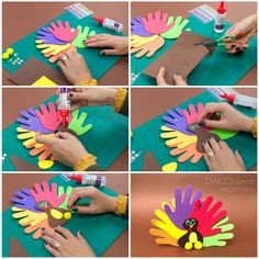 Diy Craft Projects, Diy Crafts, Have Fun, Turkey, Colorful, Create, Kids, Inspiration, Products