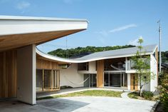 Shawl House by Masahiro Miyake (y+M design office) - Ehime Prefecture, Japan