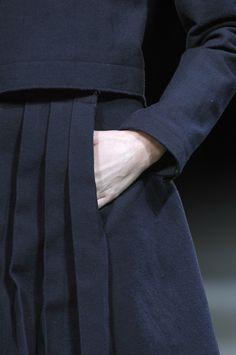 pleats: Yohji Yamamoto