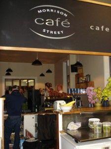 Cafe interior @ Morrieson's Cafe Bar #kiwihospo #MorriesonsCafeBar #KiwiBars #KiwiCafes Cafe Interior, Cafe Bar, Kiwi, Liquor Cabinet, Cafe Interiors