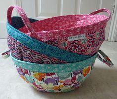 Project Baskets Pattern