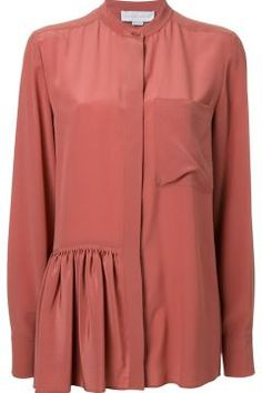 Stella Mccartney Skirted Detail Shirt https://modasto.com/stella-ve-mccartney/kadin-ust-giyim-gomlek-bluz/br3215ct4