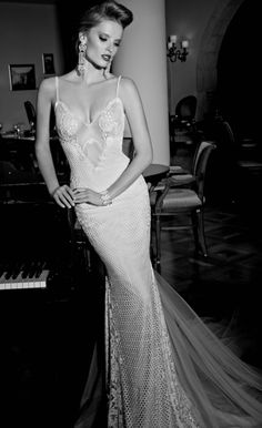 Galia Lahav Haute Couture Bridal Gown - Daisy is an antique vintage lace and crochet dress