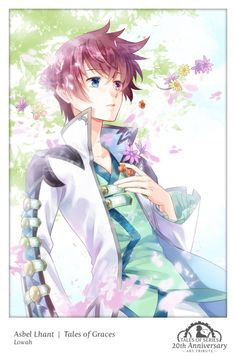 "talesofcollab:  """" Asbel Lhant 