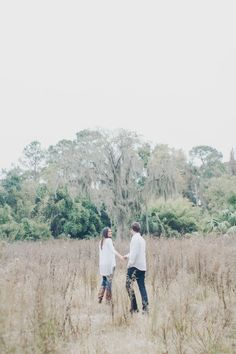 Coastal Lowcountry Engagement Session in St. Simons, Georgia by Mintwood Photo Co.