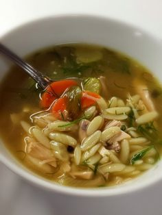 Wish Upon A Chef: Lemon Dill Chicken Soup