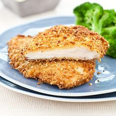 Almond-Crusted Chicken Cutlets with Wilted Spinach-Orange Salad Recipe - America's Test Kitchen