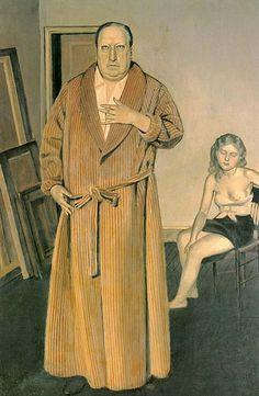 Balthus - Portrait of Andre Derain (1936)