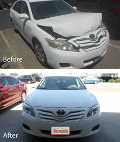#tbt that time we fixed our client's #Toyota and had it back on the road in no time! ✨  #repairs #collision #california