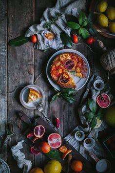 Winter Citrus Upside Down Cake by Eva Kosmas Flores | Adventures in Cooking