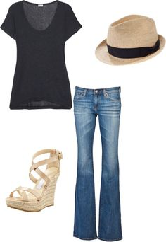 """""""Simple chic"""" by rprov on Polyvore"""