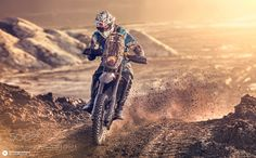 burn rubber not your soul | sportspict:   Matthias Kurz with KTM EXC 530 at...