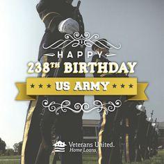 US Army 238 Birthday