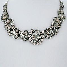 Find Sorrelli's Snow Bunny Collection of crystal necklaces at Perfect Details.  Vintage inspired crystal jewelry.  Gorgeous for brides & bridesmaids, fabulous for nights out & formal affairs. Create your own glamour with Sorrelli's Snow Bunny Collection at Perfect Details.