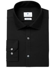 Ryan Seacrest Distinction Men's Ultimate Extended Sizing Slim-Fit Non-Iron Performance Stretch Dress Shirt, Created for 1