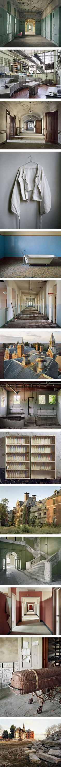 Photographer Documents Abandoned Mental Hospitals (By Christopher Payne) - 9GAG