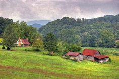 Georgia farm.    Paint the house up and make it mine....