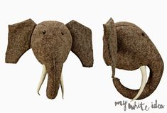 ELEPHANT HEAD DIY | MY WHITE IDEA DIY