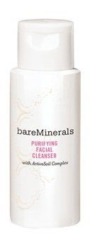 bareMinerals Purifying Facial Cleanser W/ActiveSoil Complex 2 fl. oz, NEW! by Bare Escentuals. bareMinerals Purifying Facial Cleanser. This gentle, purifying cleanser removes makeup, dissolves impurities and re-balances skin for a soft, smooth complexion. Size : 2. fl. oz / 60 ml (deluxe travel size).