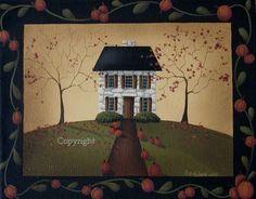 Image detail for -Catherine Holman Folk Art: Painting House Details On Folk Art Scene
