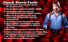 Love me some Chuck Norris! Chuck Norris for President! Chuck Norris Memes, Just For Laughs, Just For You, Walker Texas Rangers, Funny Quotes, Funny Memes, That's Hilarious, Funny Gifs, Guy