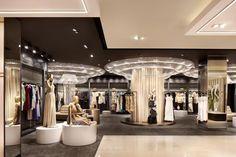 Galeries Lafayette department store by Plajer Franz Studio Jakarta 07 Galeries… Shoe Store Design, Retail Store Design, Retail Shop, Visual Merchandising, Bridal Boutique Interior, Jakarta, Interior Architecture, Interior Design, Cultural Architecture