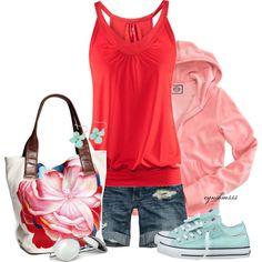 yes : my summer beach outfit - plumeria plumeria plumeria (by cynthia335 on Polyvore)